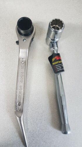 Scaffolding Ratchet Podger Spanner 19 21mm  Scaffold Bi Hex Spanner 716