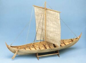 Roar Ege Viking Longboat - 569mm 1:25 Billing Boats Kit de bateau en bois pour bateau B703 689990504936