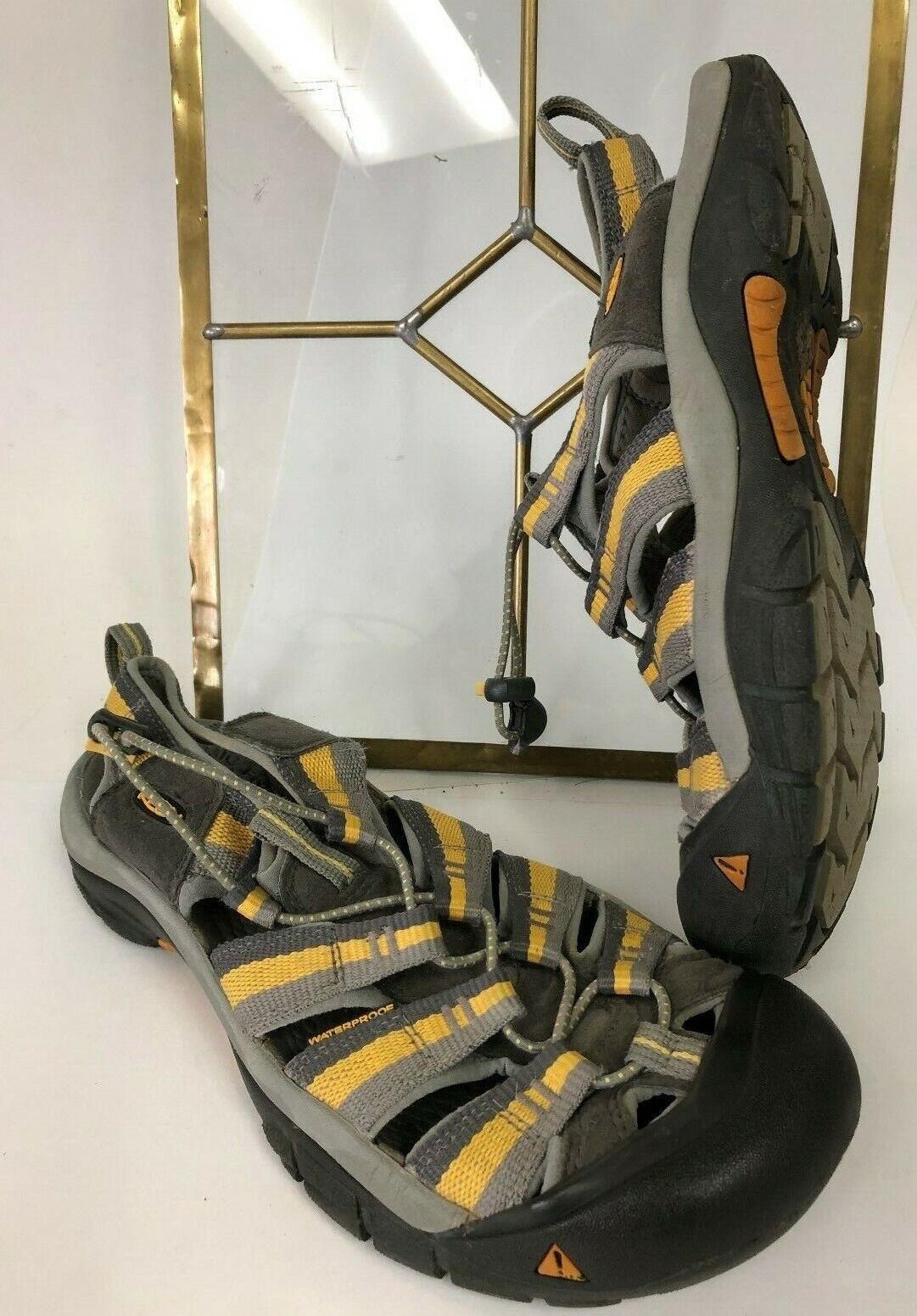 Keen Newport H2 Waterproof Comort Sandal femmes vert or chaussures EU 42.5 US 9.5