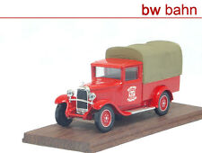 Micarola 1:43 SPB5 Feuerwehr-Auto Citroen C4F 1930 Sapeurs Pompiers Neu