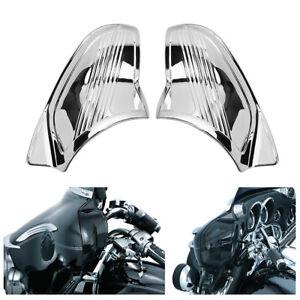 Chrome-Inner-Fairing-Covers-for-Harley-2007-2008-Electra-Glide-Classic-FLHTC
