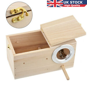 Wooden-Small-Bird-Breeding-Nest-Box-Nesting-Budgie-House-For-Lovebirds-Finch-UK