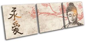 Buddha-Buddhism-Illustration-Religion-TREBLE-CANVAS-WALL-ART-Picture-Print