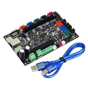 Details about 3D Printer MKS SBASE V1 3 Smoothieware 32 Bit Controller  Board + USB Cable