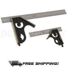 iGaging Combination Square Set 6 /& 12 4R Steel Blade High Precision