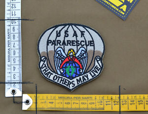 Ricamata-Embroidered-Patch-034-USAF-Pararescue-Subdued-034-with-VELCRO-brand-hook