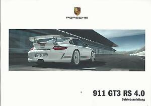 PORSCHE-911-GT3-RS-4-0-Betriebsanleitung-2010-Typ-997-Bedienungsanleitung-BA