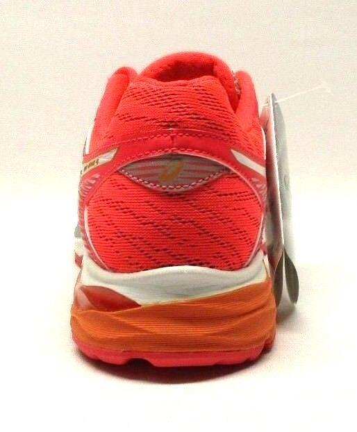 Asics Asics Asics Women's GEL-Flux 4 Running shoes, Midgrey White Diva Pink, Size 5 US M 69c580