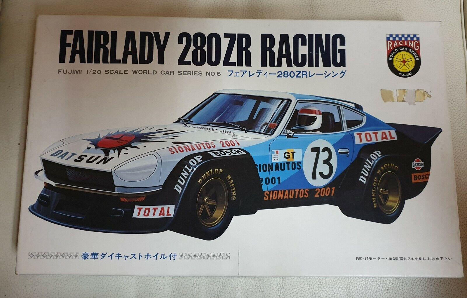 Datsun Nissan Fairlady 280 ZR. Kit Fujimi escala 1 20. De los 70 aprox.