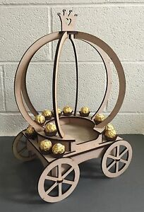 Y112-XL-Cupcake-Princess-Carriage-Candy-Cart-Sweet-Table-Centre-Stand-Holder