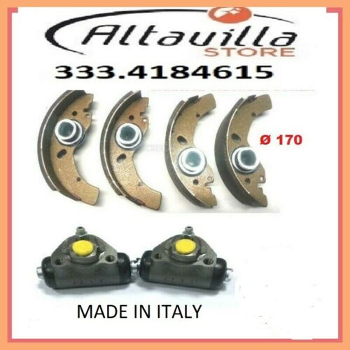 Chatenet Media Bremsbacken Zylinder Bremsen Hinten Zylinder 4 Klemme-Abdeckungen