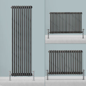 Vertical Horizontal Traditional Cast Iron Style Column Bathroom Vintage Radiator
