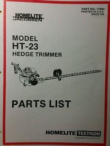 homelite gas hedge trimmer ht 23 parts manual 8p weedwacker line rh ebay com homelite hedge trimmer troubleshooting homelite gas hedge trimmer manual