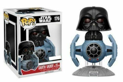Funko Pop  Star Wars Darth Vader with Tie Fighter Exclusive Figurine  176