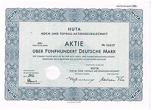 Huta-Hoch-und-Tiefbau-AG-Hannover-1962-500-DM