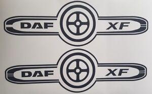 DAF-XF-TRUCK-LOGO-DECAL-X2-DAF-XF-CF-LF-HAULAGE-STICKER-TRUCK-DRIVER