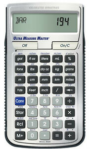 Adaptable Calculated Industries Ultra Measure Master Calculator 8025