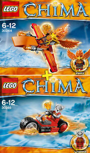 LEGO Legends of Chima #30264, #30265 - Limited Edition - NEW / NEUF