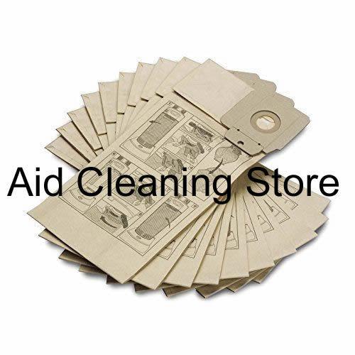 Paper Dust Bags for Karcher Vacuum Hoover NT65//2 AP Eco ME NT70//1 NT70//2 TC x 15