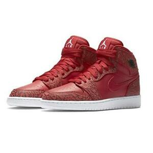 nike air jordan 1 retro high gym red/white-team red-white