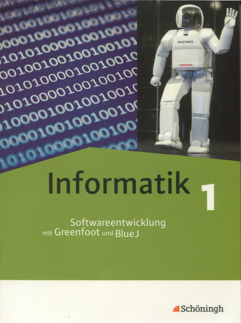 Informatik - Band1 - Softwareentwicklung mit Greenfoot und BlueJ incl. CD-ROM - Thomas Kempe und David Tepaße