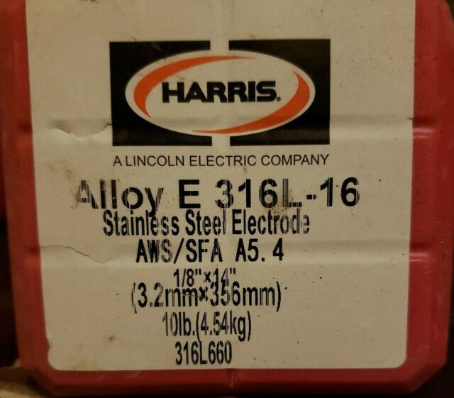 Blue Demon E347-16 x 1//8 x 14 x 5LB Pack Stainless Steel Arc Welding Electrode