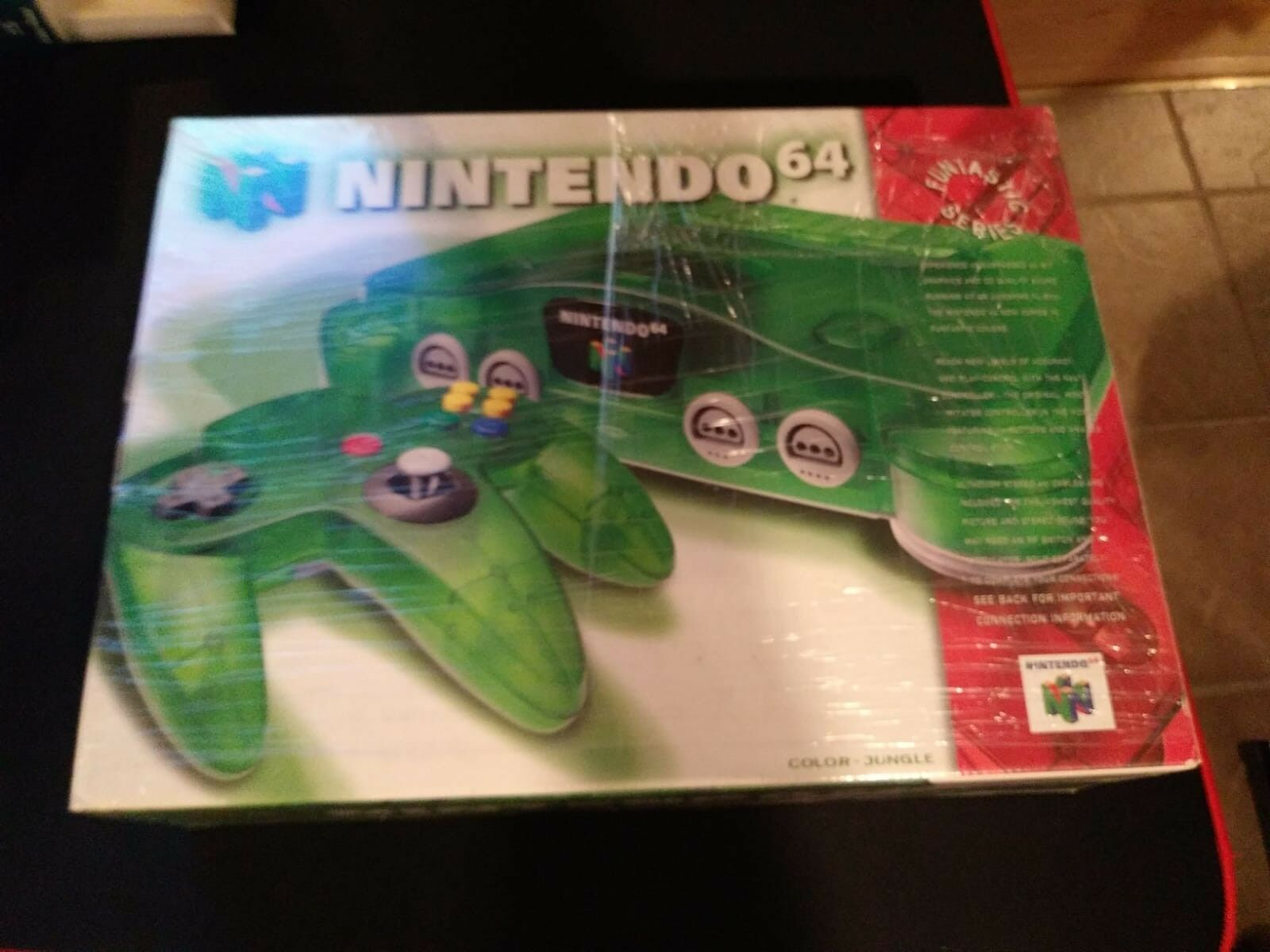 Nintendo 64 Launch Edition Console - Jungle Green