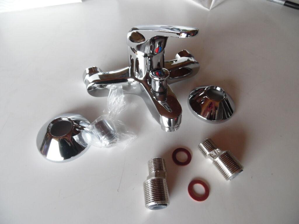 Ideal Standard Slimline B 1381 AA, Chrom,Bade- Brause- Einhebelmischer, NEU | Geeignet für Farbe  | Üppiges Design  | Glücklicher Startpunkt  | Schenken Sie Ihrem Kind eine glückliche Kindheit