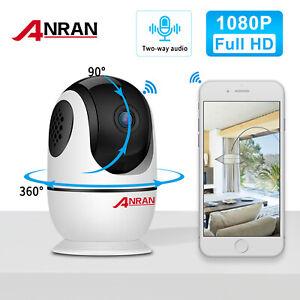 ANRAN Indoor 2Way Audio P2P WIFI Camera Baby Monitor 1080P HD Home Security CCTV