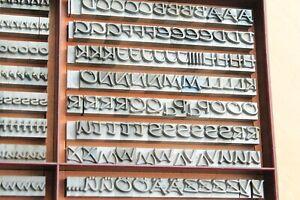 24p-PRESENT-Bleisatz-Buchdruck-Handsatz-Bleibuchstaben-9-mm-Letterpress-Type