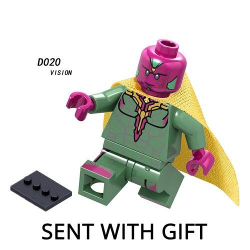 Legoinglys Thanos Energy Stones Gloves Building Blocks Avengers 3 New Infinity
