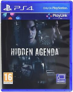 PLAYSTATION-4-HIDDEN-AGENDA-PS4-NUOVO-ORIGINALE-ITALIANO