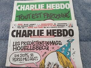 CHARLIE HEBDO N° 1177  Et N° 1178  ÉTAT PARFAIT
