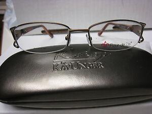 FLEUR-DE-LIS-Eyeglass-Frames-BOUQUET-in-BROWN-51-17-135