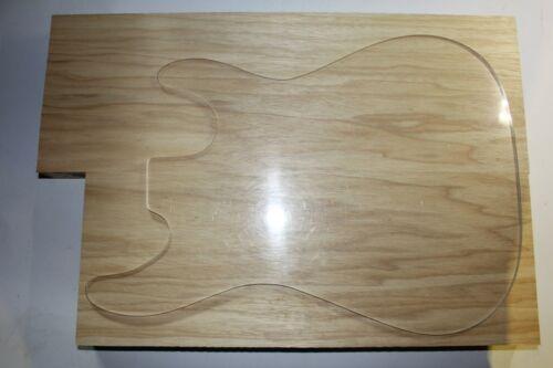 TMG Blank Groß Korpus Tonholz Korina Gitarrenbau Strat Tele ca 51x36x4,45 cm