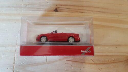 tangorot metallic-nuevo Herpa 038300-002 1//87 audi a3 cabrio
