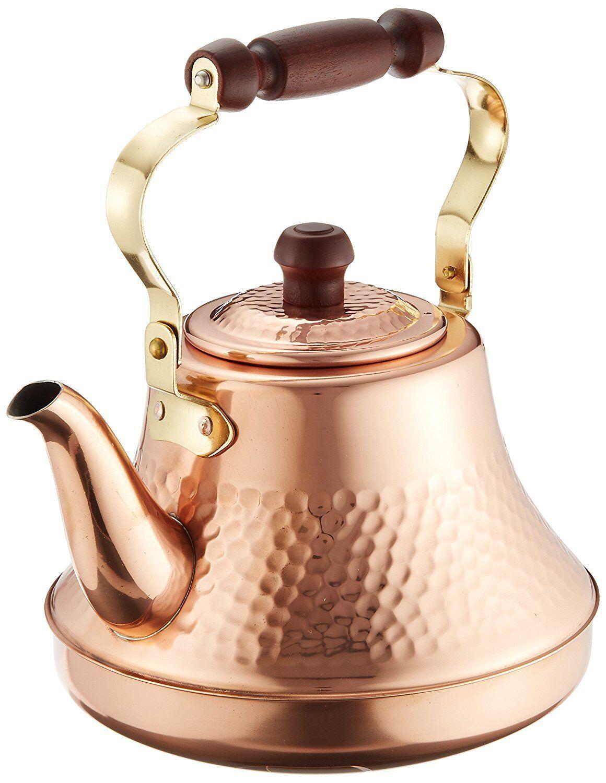Copper classy kettle 2.5 L Vintage style tea kettle, tea pot