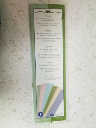 Creative Memories Photo Mounting Paper Great Lengths Strips