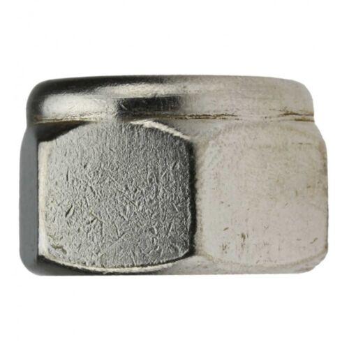 5x DIN 985 Sechskantmuttern mit Klemmteil niedrige Form A2 blank M 18
