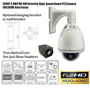 HD-SDI Speed Dome Camera /PTZ/1080p/broadcast/18x optical zoom/IP66