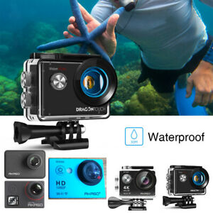 AKASO Action Camera 4K 1080p 20MP Camcorder Touch Screen Sports Cam  Refurbished
