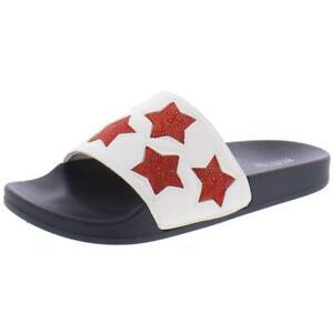 Kenneth-Cole-Reaction-Womens-Pool-Splash-Casual-Slide-Sandals-Shoes-BHFO-9500