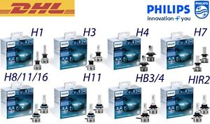 NEW Philips HIR2 Ultinon Pro9000 LED Headlight Bulbs 250/% 5800K 11012U90CWX2