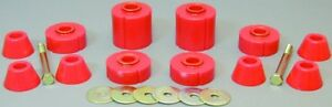 1973-1980-Chevy-GMC-Trucks-Regular-Cab-Red-Body-Mount-Bushing-Kit-Prothane-7-104