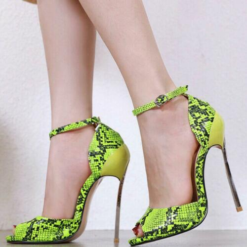 sandali donna blade giallo fluo n 38 pelle sintetica eleganti kim kardashian