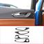 4 Stücke Echt Carbon Für Alfa Romeo Giulia 2017 2018 Auto Innentürgriff Rahmen