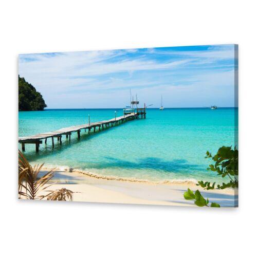 Leinwand-Bilder Wandbild Druck auf Canvas Kunstdruck Blaues Meer