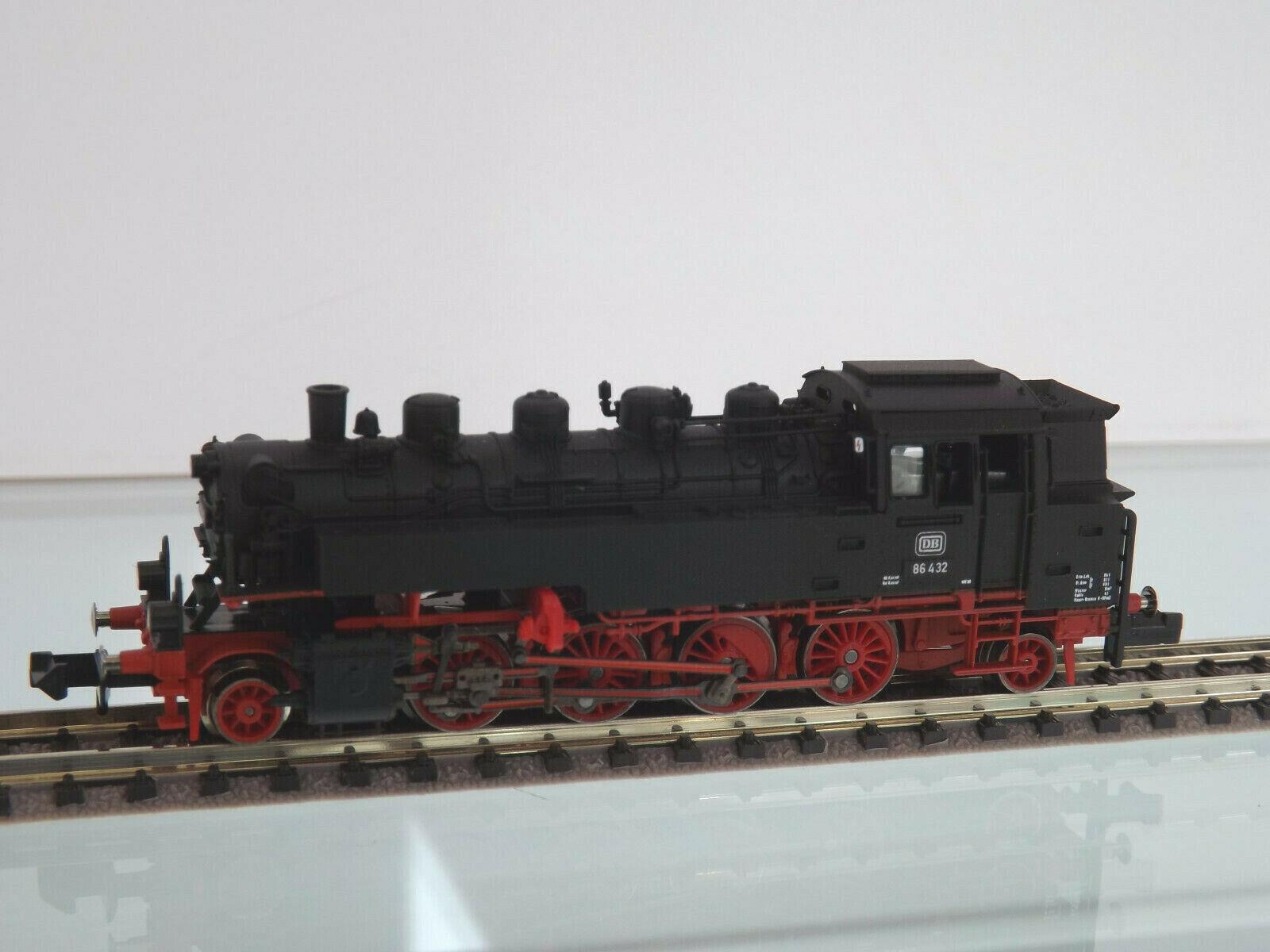Fleischmann 708603 - N Gage - Steam Locomotive Br 86 432 Db, Epoch III - Nip