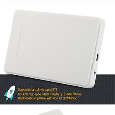 """USB 2,0 SATA 2,5 """"inch HDD unidad de disco duro externa Carcasa Case marca"""