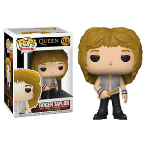 """Queen Roger Taylor 3"""" Funko Rock Band Pop! Collectible Vinyl Toy Figure New"""